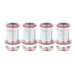 UWELL Crown 3 Replacement Coils 4-Pack - SUS316 0.25 ohm