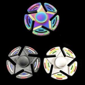 Tobeco Five-Pointed Star Fidget Spinner - Black
