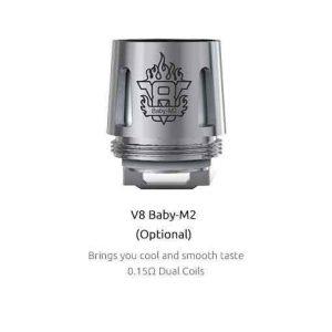 SMOK TFV8 Baby Coils 5-Pack - M2 0.15 ohm