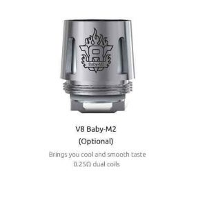 SMOK TFV8 Baby Coils 5-Pack - M2 0.25 ohm