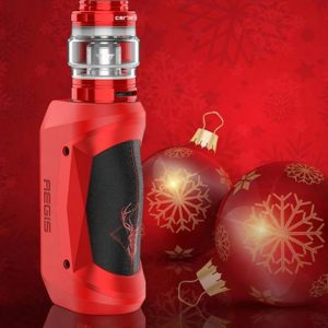 Geekvape Aegis Mini Kit - Christmas Red Black
