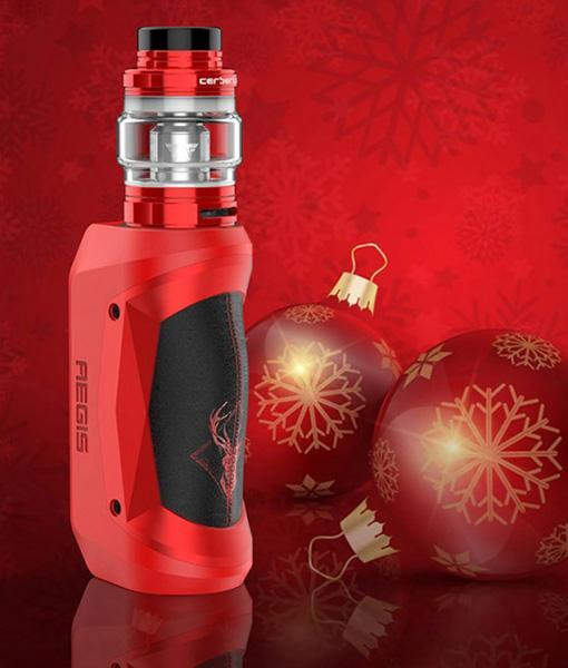 Geekvape Aegis Mini Kit - Christmas Red Black