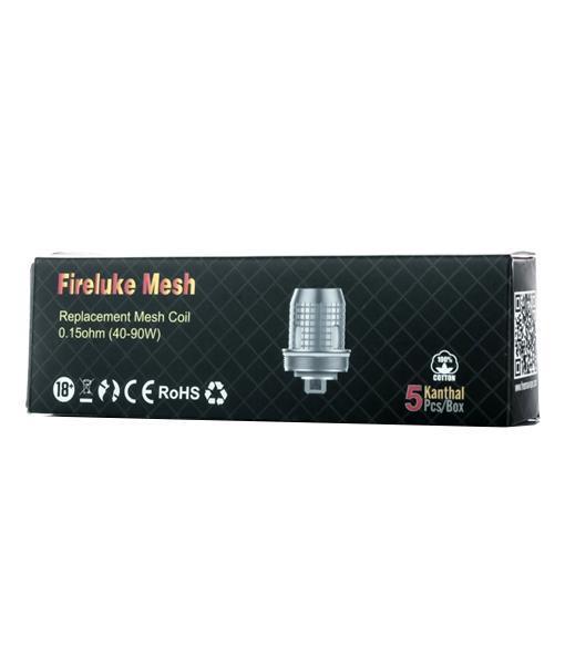FreeMax Fireluke Mesh Replacement Coils 5-Pack - X1 Mesh 0.15 ohm