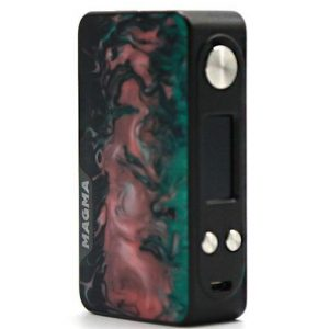 Famovape Magma Box Mod - Silver/Gray Fabric