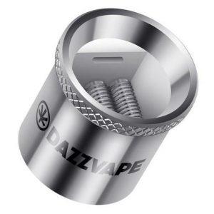 DazzVape Melter Coils 5-Pack - Triple Titanium Quartz Coil