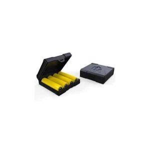 Chubby Gorilla Quad 18650 Battery Case - Black