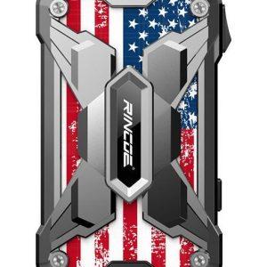 Rincoe Mechman Mod - Steel Wings American Flag Stainless Steel
