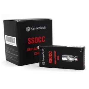Kanger Vertical SSOCC 5-Pack Coils (OCC Replacement) - 0.5 ohm