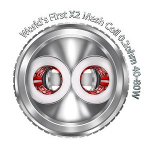 Freemax Twister Coils 5-Pack - X2 Mesh 0.2 ohm