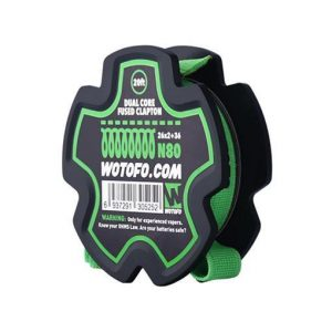 Wotofo Dual Core Fused Clapton Wire Roll - 20 Feet - Default Title