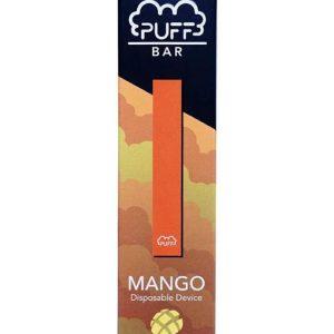 Puff Bar Disposable Pod Device - Mango 50mg