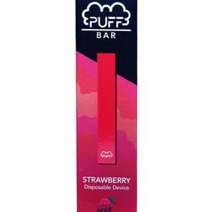 Puff Bar Disposable Pod Device - Strawberry 50mg