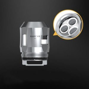 Smok Baby V2 A3 Coil (0.15ohm) - Stainless Steel