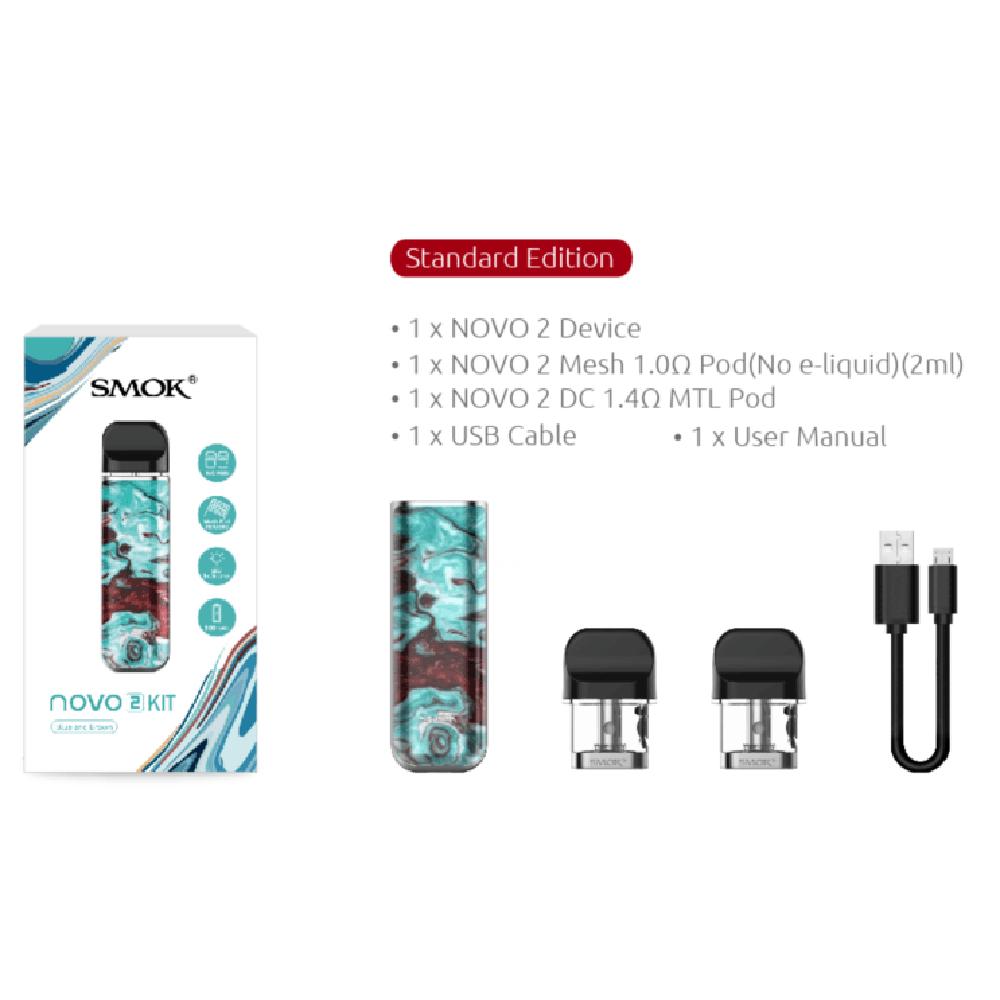 Smok Novo 2 Kit Resin Edition - 7 Color Spray