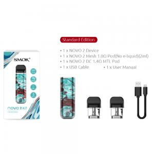 Smok Novo 2 Kit Resin Edition - Blue Brown