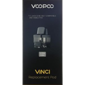VooPoo Vinci Replacement Pods 5.5ml 2-Pack - Default Title