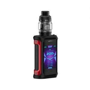 GeekVape Aegis X Zeus 200W Full Kit - Black/Red