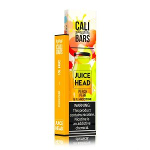 Cali Bars x Juice Head Disposable (5%) - 1 Bar - Peach Pear