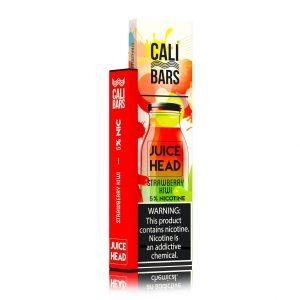 Cali Bars x Juice Head Disposable (5%) - Box of 10 - Strawberry Kiwi