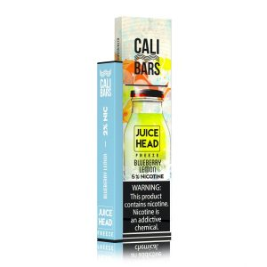 Cali Bars x Juice Head Disposable (5%) - Box of 10 - Freeze Blueberry Lemon