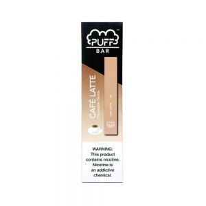 Puff Bar Disposable (2%) - Cafe Latte
