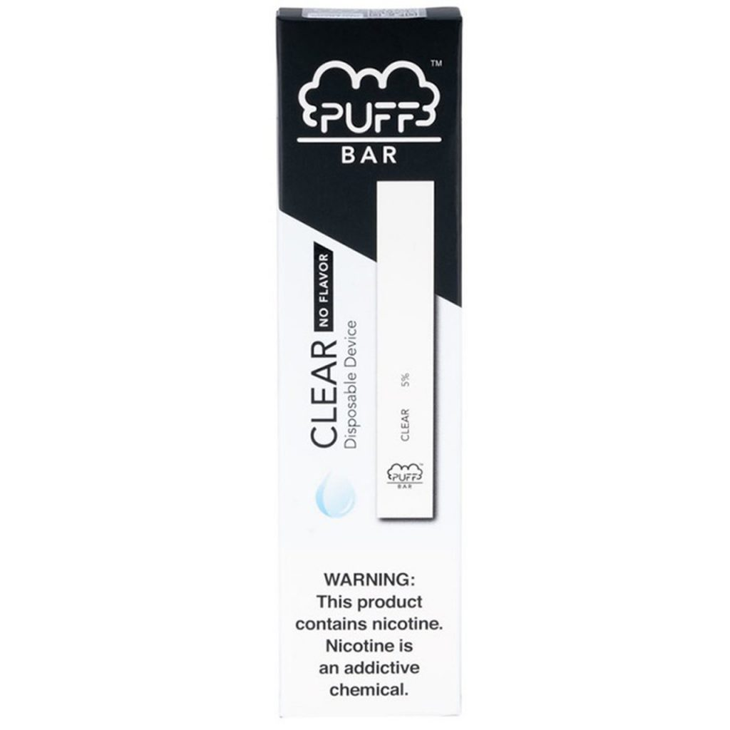 Puff Bar Disposable (2%) - Clear