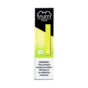 Puff Bar Disposable (2%) - Sour Apple