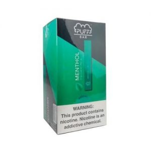 Puff Bar Disposable (2%) - Box of 10 - Menthol