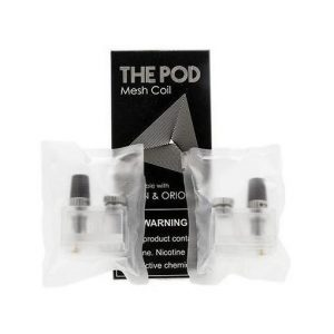 IQS The Pod Replacement Orion/Orion Q Mesh Pods 2-Pack - 0.3 ohm