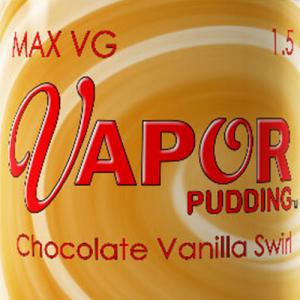 Max VG Vapor Pudding - Chocolate Vanilla Swirl - 30ml / 0mg