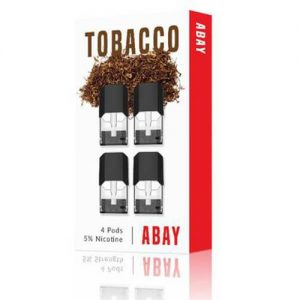 Abay - Tobacco Flavor Pods (4 Pack) - 1.6ml / 50mg
