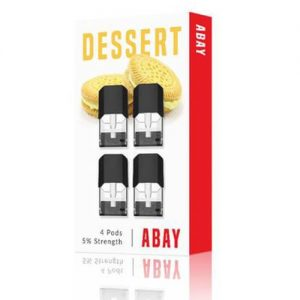 Abay - Dessert Flavor Pods (4 Pack) - 1.6ml / 50mg