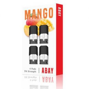 Abay - Mango Flavor Pods (4 Pack) - 1.6ml / 50mg