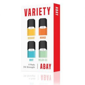 Abay - Variety Pack Flavor Pods (4 Pack) - 1.6ml / 50mg