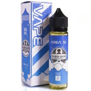 Alien Vape Premium E-Juice - Area 51 - 60ml - 60ml / 0mg