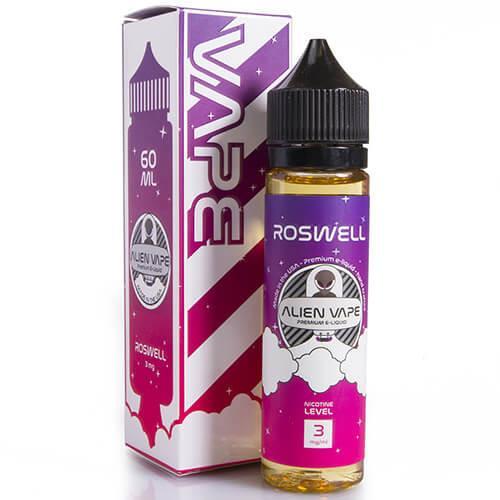 Alien Vape Premium E-Juice - Roswell - 60ml - 60ml / 0mg