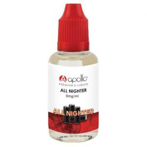 Apollo E-Liquid - All Nighter - 30ml - 30ml / 0mg