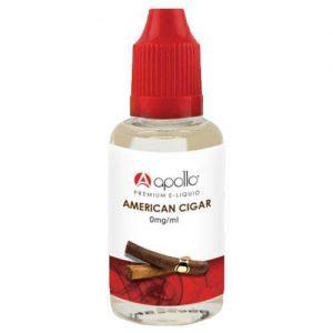 Apollo E-Liquid - American Cigar - 30ml - 30ml / 0mg