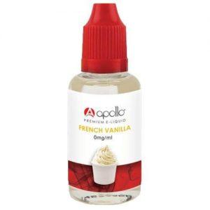 Apollo E-Liquid - French Vanilla - 30ml - 30ml / 0mg