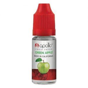 Apollo E-Liquid - Green Apple - 10ml - 10ml / 0mg