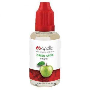 Apollo E-Liquid - Green Apple - 30ml - 30ml / 0mg
