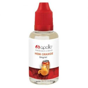 Apollo E-Liquid - Hemi Orange - 30ml - 30ml / 0mg
