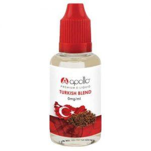 Apollo E-Liquid - Turkish Blend - 30ml - 30ml / 0mg