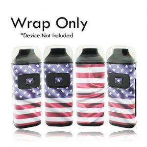 Aspire Breeze Wrap by VCG Customs - American Flag