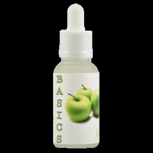 Basics E-Juice - Green Apple - 30ml - 30ml / 0mg