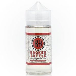 Broken Bottle Vape Co - Dirty Strawberry - 100ml - 100ml / 0mg