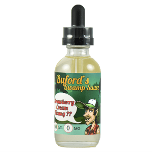 Buford's Swamp Sauce - Strawberry Cream Twang ?? - 60ml - 60ml / 0mg