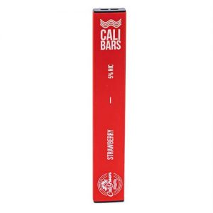 Cali Bars - Disposable Vape Device - Strawberry - Single / 50mg