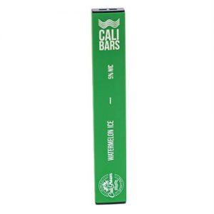 Cali Bars - Disposable Vape Device - Watermelon ICE - Single / 50mg