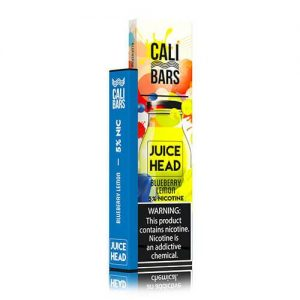 Cali Bars x Juice Head - Disposable Vape Device - Blueberry Lemon - Single / 50mg